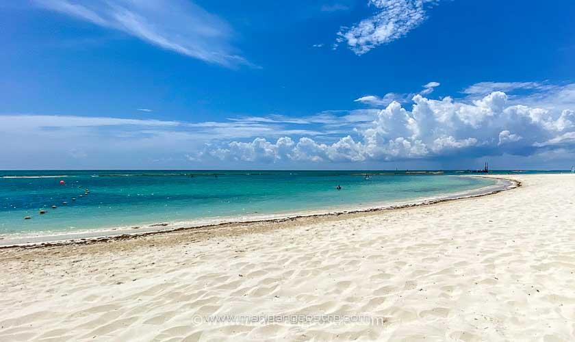Voyage Mexique 2021, plage Playa del Carmen © Marie-Ange Ostré