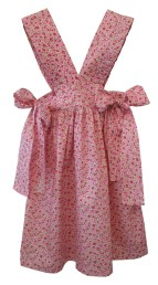 Robe tablier rose