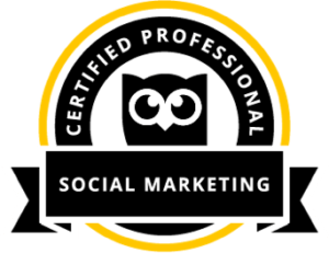 Hootsuite Social Marketing Certified Professional