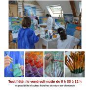 Matinées de peinture pour enfants tout l'été dans l'atelier