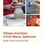 Village d'artistes à Port Maria – Jeudi 12 août 2021