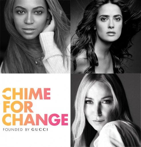 Chime for Change : le combat de Gucci pour la cause des femmes