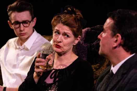 Marie Cooper Actor performing drunk as Hilda
