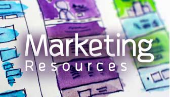 Marketing Resources Button