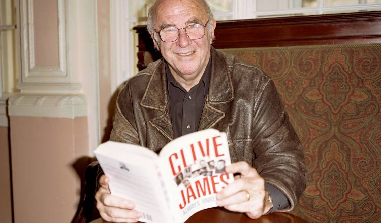 Clive James by © Edd Westmacott / Alamy Stock