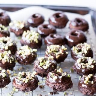Beignes (plus) santé au chocolat