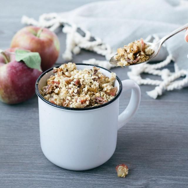 Nouveau sur le blogue Une recette de croustade aux pommeshellip