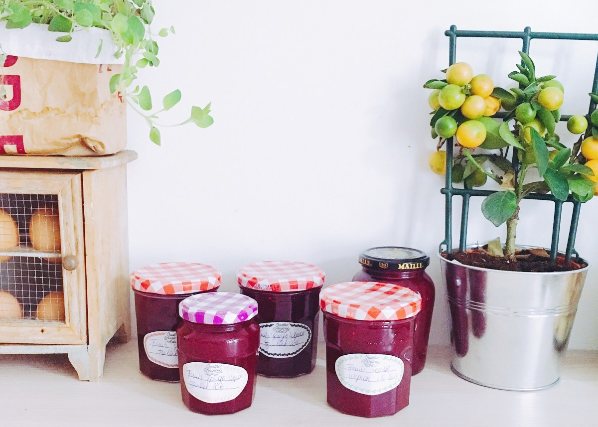 Confiture aux Fruits Rouges