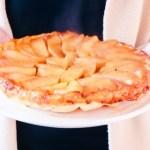 Tarte Tatin aux pommes & cassonade