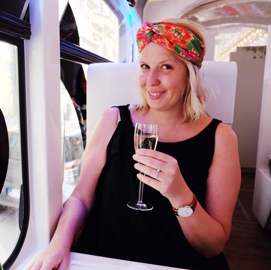 Marie gourmandise Tram Expérience