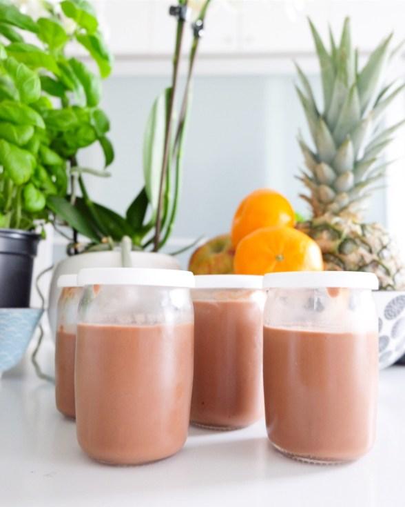 crème au chocolat marie gourmandise