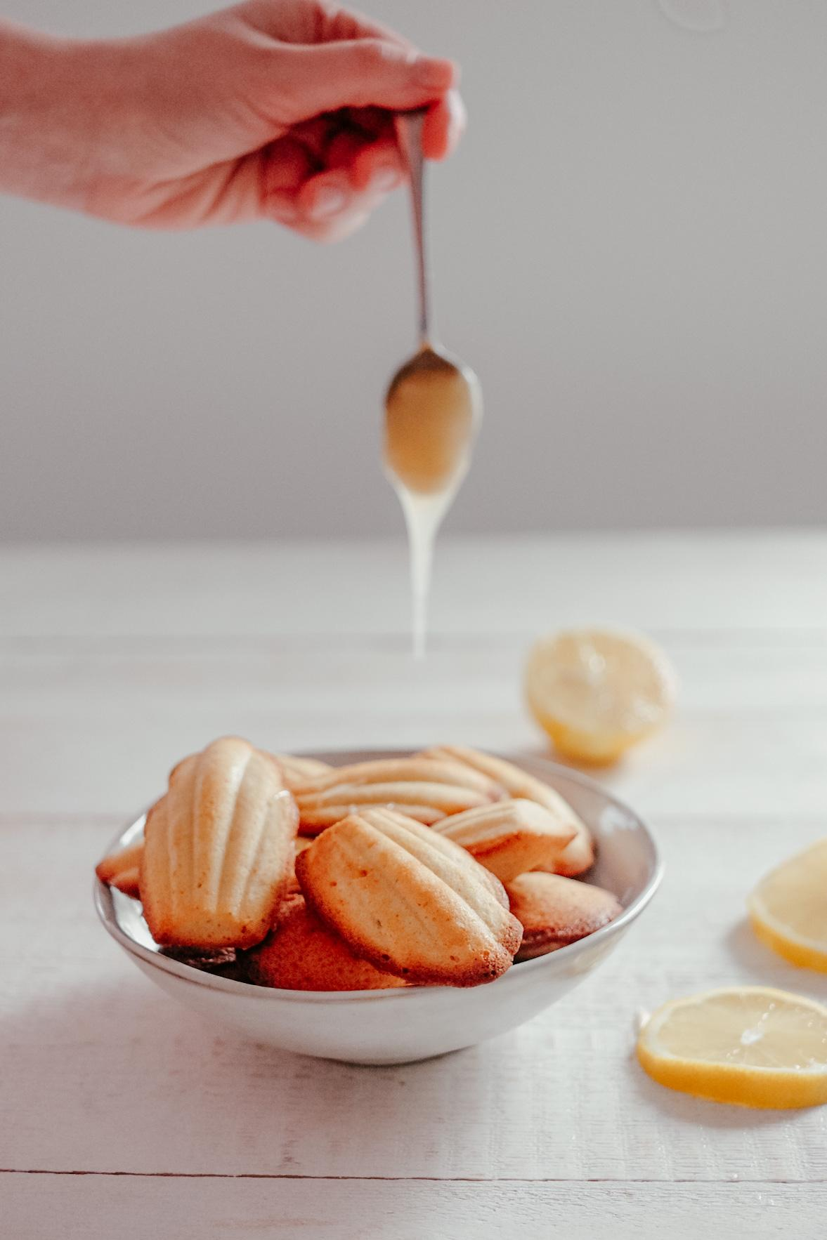 Les Madeleines au miel