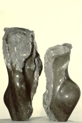 No 65 L'entre-deux (1981). Photographe inconnu. h = h = 73 cm et 61 cm