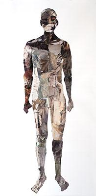 Collage staande man