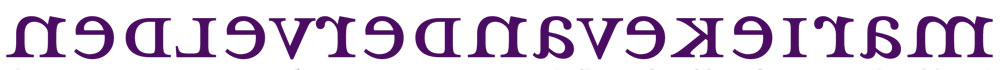 logo marieke van der velden, beeldend kunstenaar