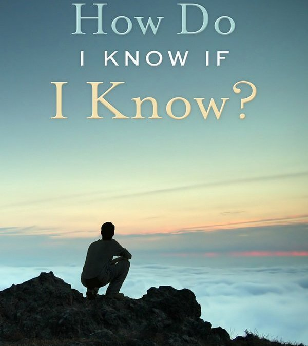How Do I Know if I Know? Book Review