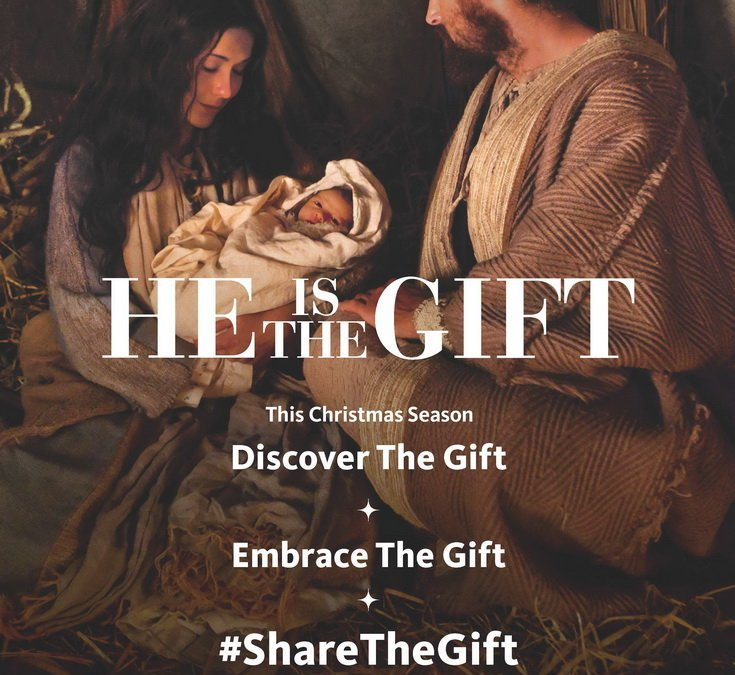 The First Gift of Christmas- #Sharethegift