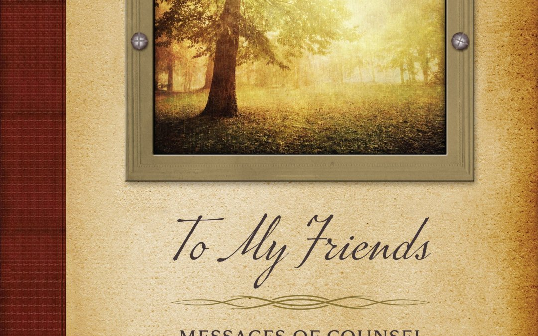 To My Friends–Book Review