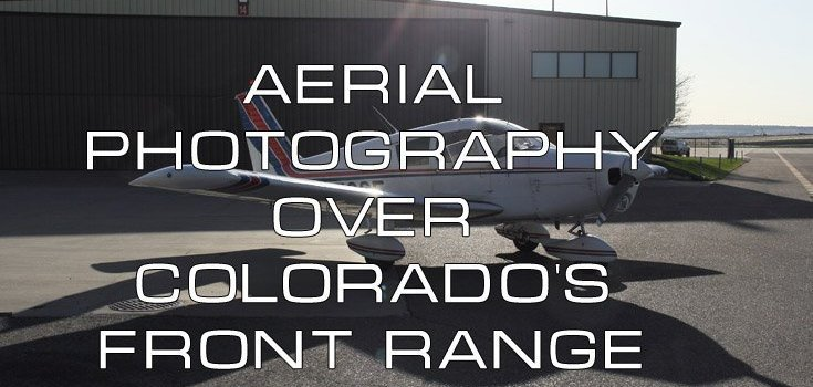 Aerial Photography Over Colorado's Front Range