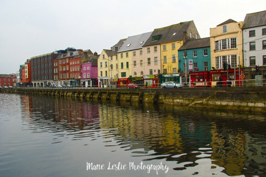 Row Homes on the River Lee, Cork, Ireland