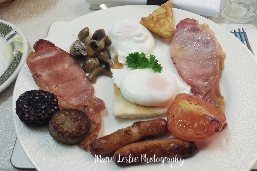 irish breakfast at belvedere lodge