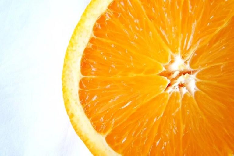 orange slice from morguefile