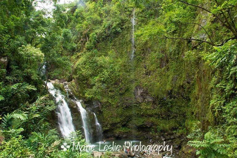 Upper Waikani Falls 1