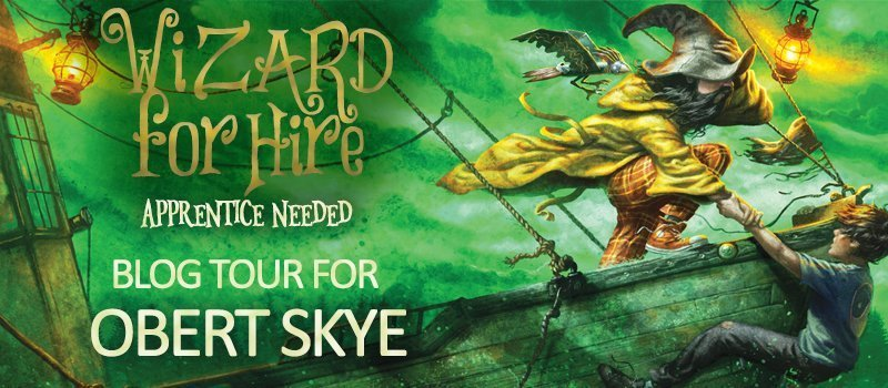 wizard for hire blog tour image