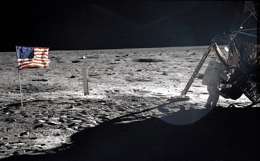 Neil Armstrong Man On The Moon