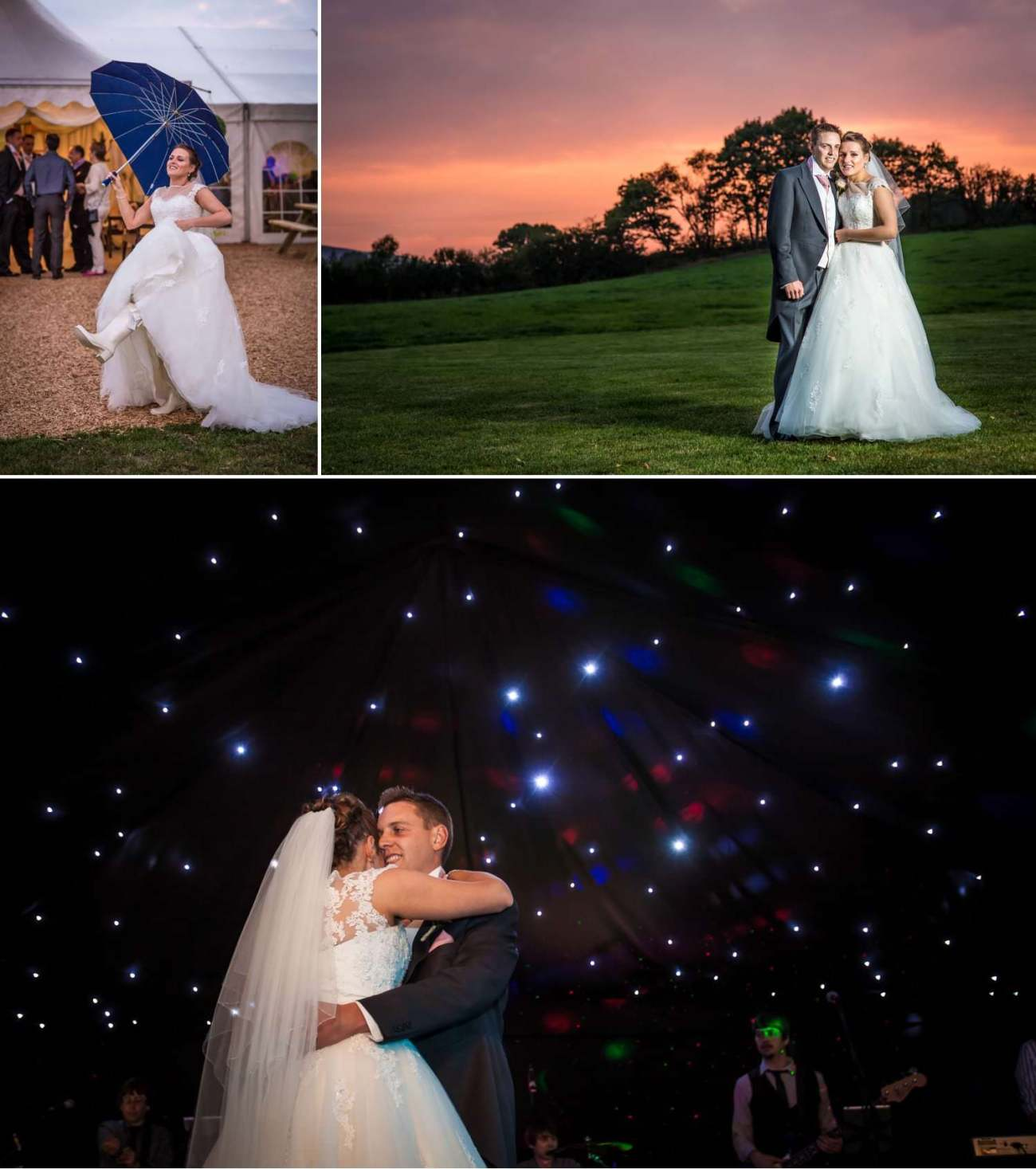 Wedding Photography Wales first dance