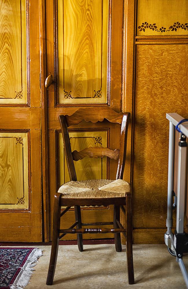 historisch interieur volendam stoel
