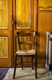 Historisch interieur Volendam; stoel