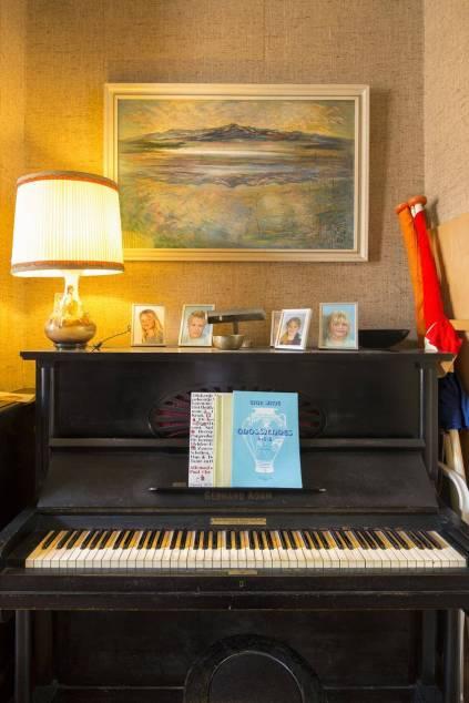 Historisch interieur; piano