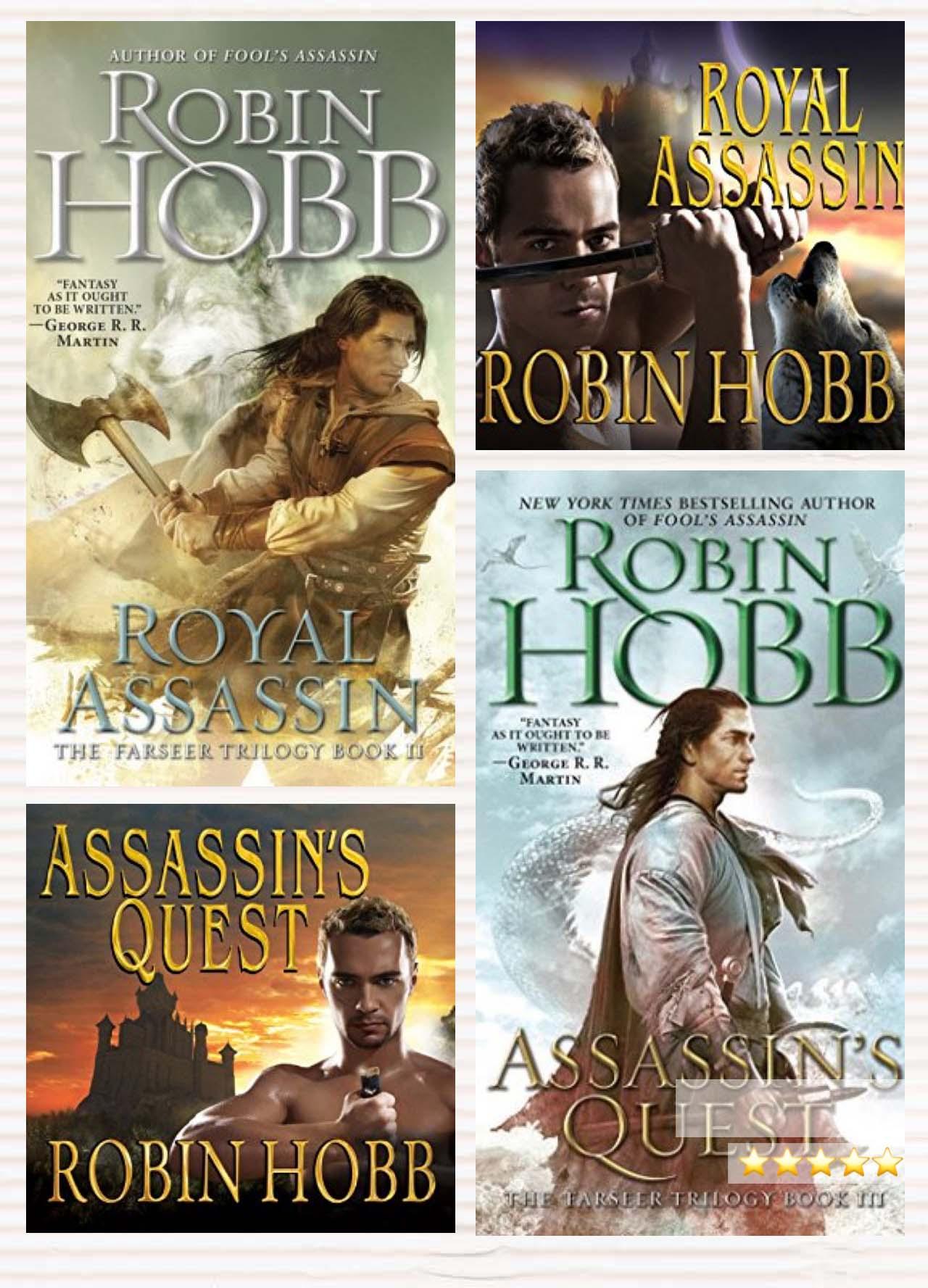 Assassins Quest : assassins, quest, Audiobook, Review:, Royal, Assassin, Assassin's, Quest, (Farseer, Trilogy), Robin, Marienela