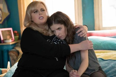 "Get ready to have a Merry Pitchmas. (L to R) Fat Amy (REBEL WILSON) and Beca (ANNA KENDRICK) in ""Pitch Perfect 3,"" the follow-up to summer 2015's blockbuster hit that took the honor of highest-grossing live-action movie-musical opening of all time. The eagerly awaited next chapter is led by series producers Paul Brooks of Gold Circle Entertainment and Max Handelman & Elizabeth Banks of Brownstone Productions. The film is directed by Trish Sie (""Step Up All In"")."