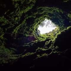 grotte nature lumière