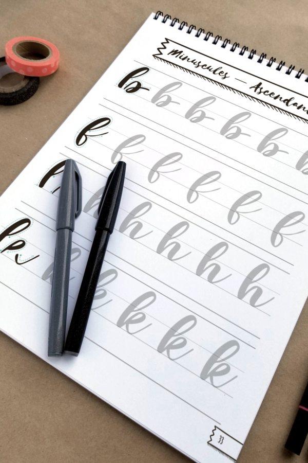 Guide d'introduction à la calligraphie moderne 03