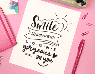 Coloriage – Smile