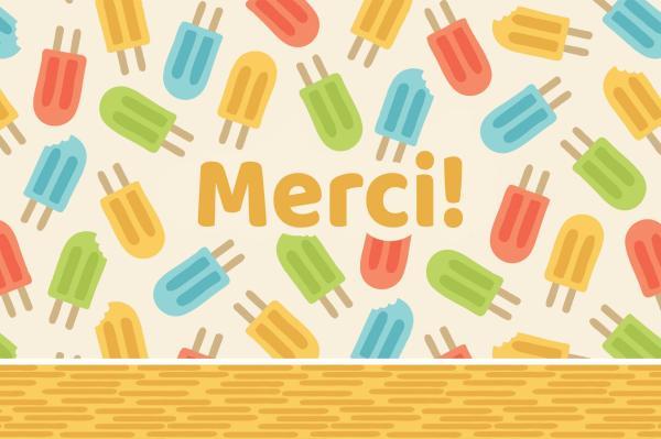 Cool Popsicles - Merci