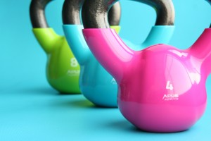 COLORED KETTLEBELLS