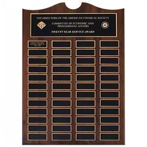 M43480 Wood plaque Marietta Trophy