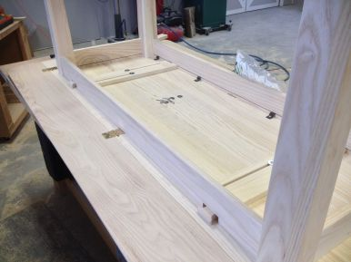 Drop Leaf Table Final Assembly