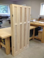 Doors Attached - Unfinished