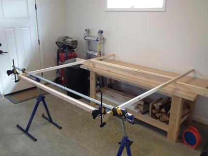 This project predated the workshop, so it was built in our garage