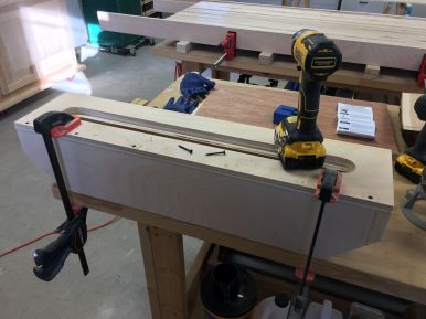 Fabricating the custom router sled