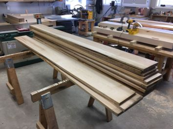 4/4 Hard Maple Boards