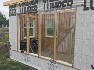 6' x 8' Southern Window is Corrugated Polycarbonate