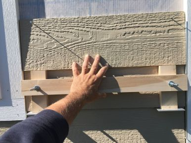 """Home Made Jig for 6-3/8"""" Lap Siding Reveal"""