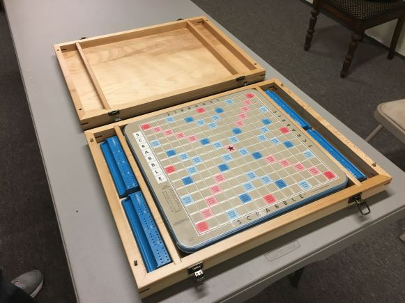 Game Board in Place