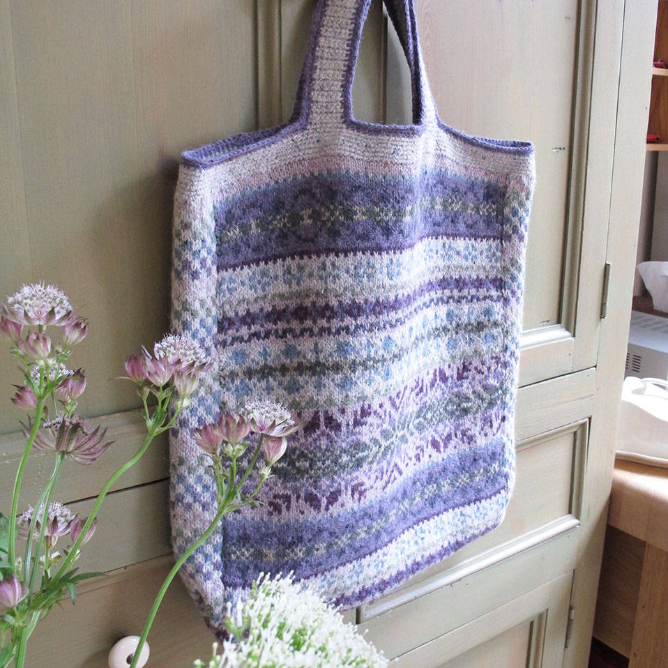 Fairisle Bag 3